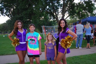 MN Viking Cheerleaders