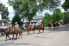 RW Sherriff Department in the Parade