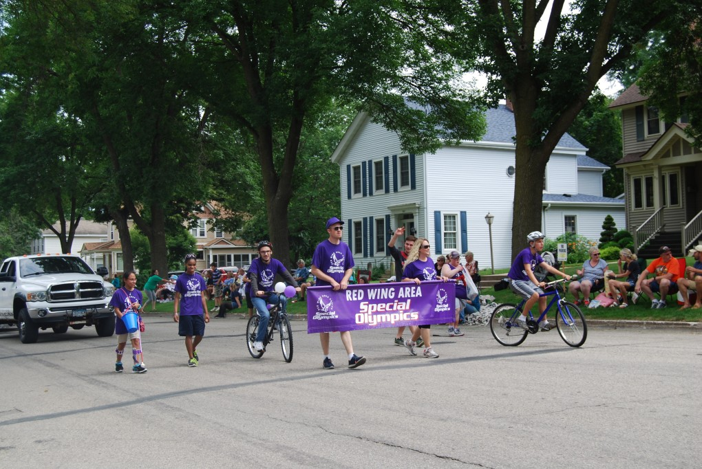 Special Olympics in the Parade