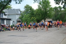 Gymnastics in the Parade