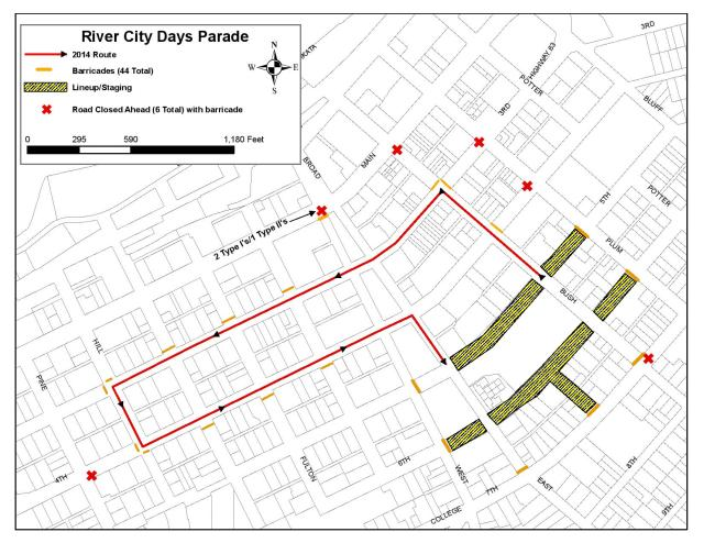 River City Days Parade Map 8-06-2017-page-001