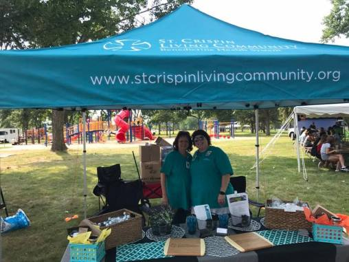 St. Crispins Living Community Vendor Booth