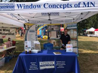 Window Concepts Vendor Booth at Bay Point Park
