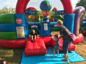 Bouncy House Fun!